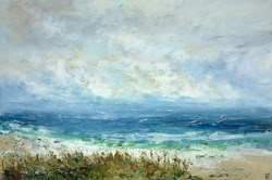 In The Clover by Hudson Parkin - Original Painting on Box Canvas sized 59x39 inches. Available from Whitewall Galleries